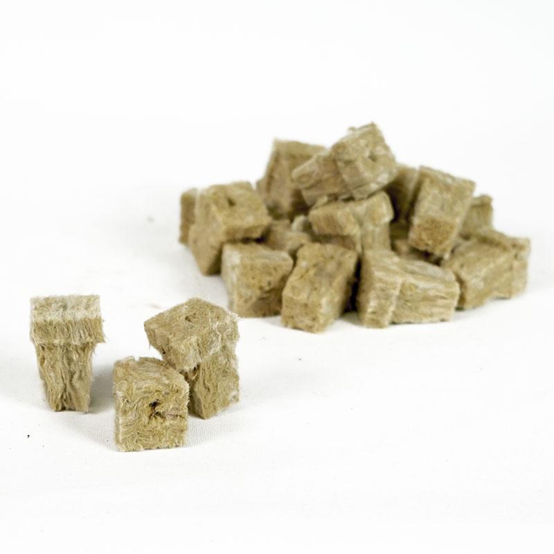 Rockwoolkuber för odling med fröer och sticklingar