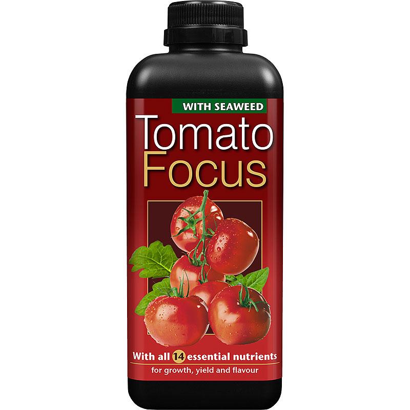Tomatnäring - Tomato Focus Soft Water, 1 liter-Tomatnäring för odling i kruka och odlingssäck
