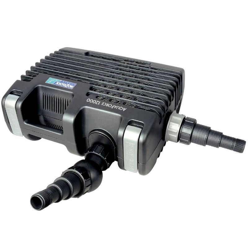 Aquaforce pump för filtrering, vattenfall och vattenvägar