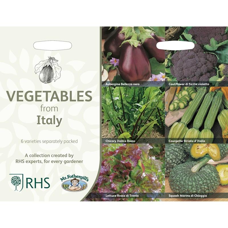 Frö till Italienska köksväxter 6 sorter