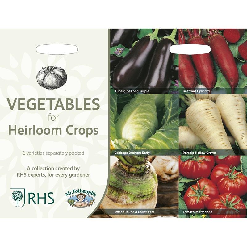 Frö till Kulturarvssorter av 6 köksväxter