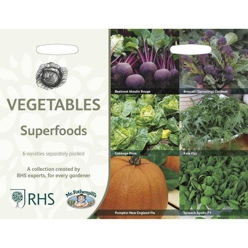 Frö till Supernyttiga köksväxter 6 sorter