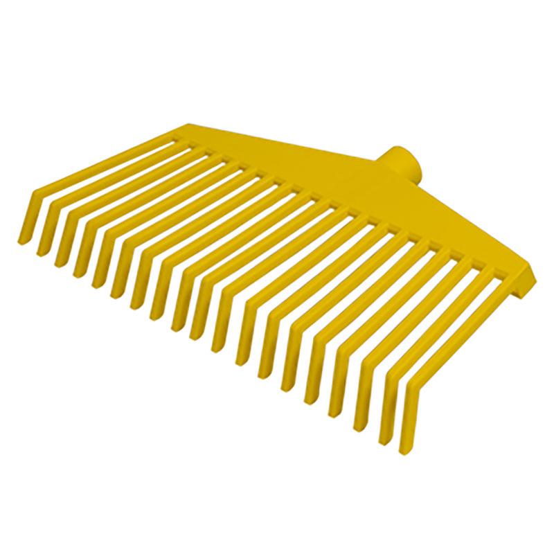 Ergonomisk Trädgårdsräfsa, gul