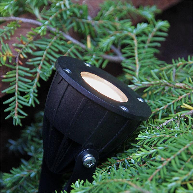 LED-spot Luminus för trädgårdbelysning