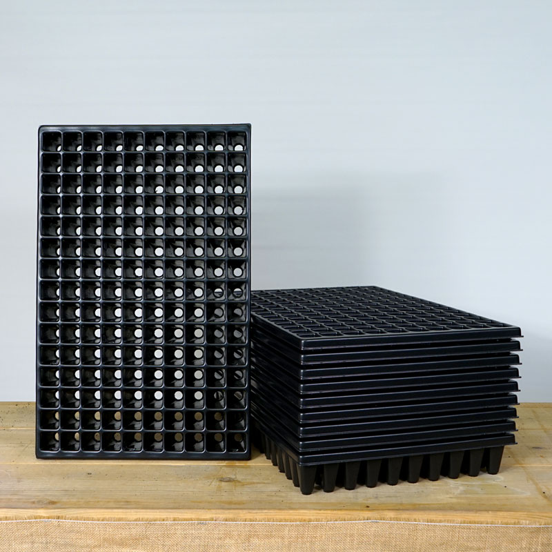 Pluggbrätte med 150 celler för frösådd och sticklingar, 10-pack