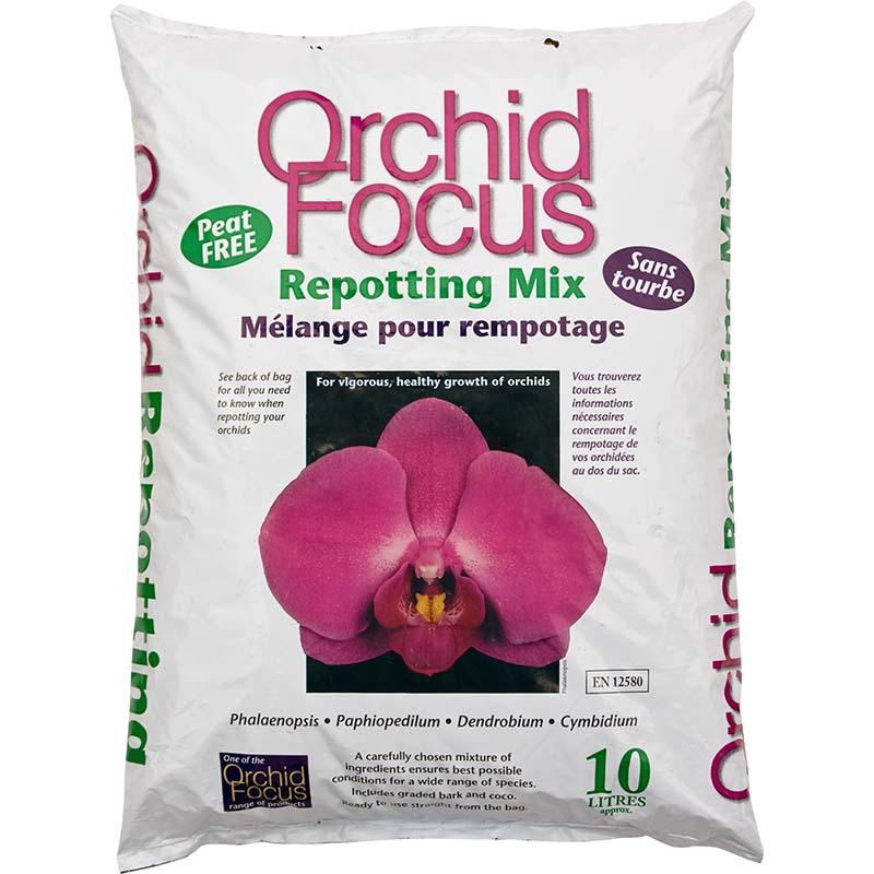 Orchid Focus Medium - orkidejord  10 L,