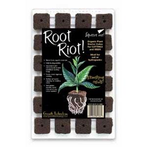 Root Riot - Bricka med 24 kuber-