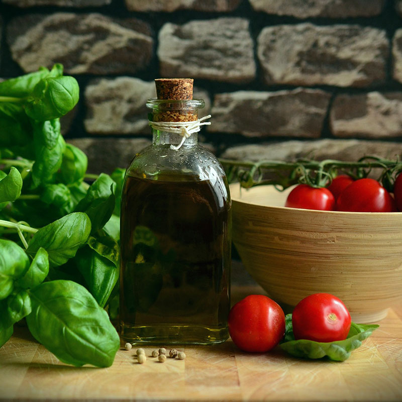 Tomat och basilika passar bra ihop