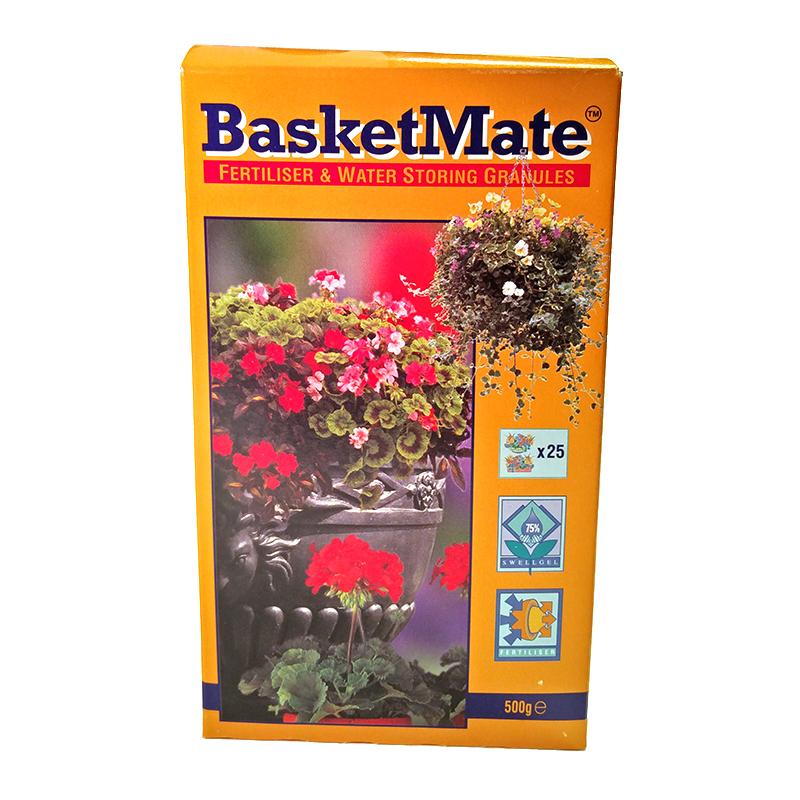 BasketMate 500 gram-vattenhållande kristaller med näring