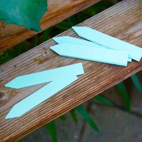 Plantetiketter 50-pack - Gröna-Växtetiketter, grona