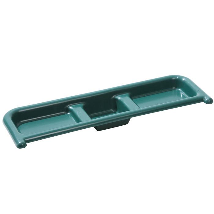 Hylla till Tidy Tray - Grön-Hylla till planteringsbord