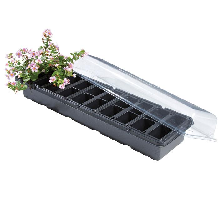 Miniväxthus för fönsterbrädan - 20 krukor-miniväxthus för fönsterbrädan