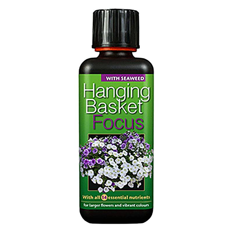 Hanging Basket Focus, 300ml-Specialnäring för sommarblommor