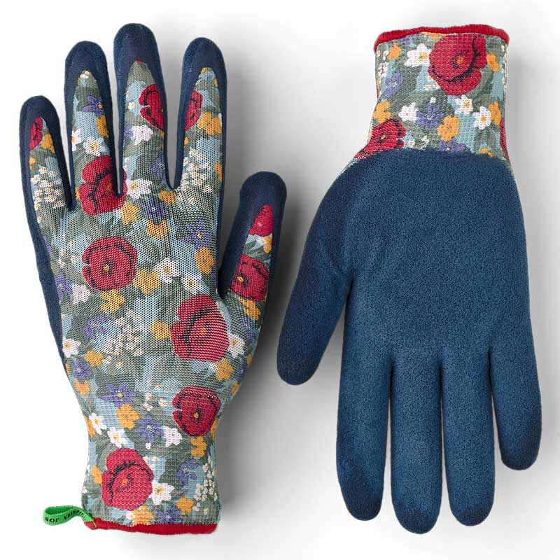 Handske Garden Dip Latex, blommig
