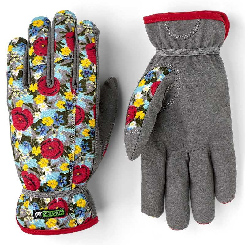 Handske Garden Robin, blommig