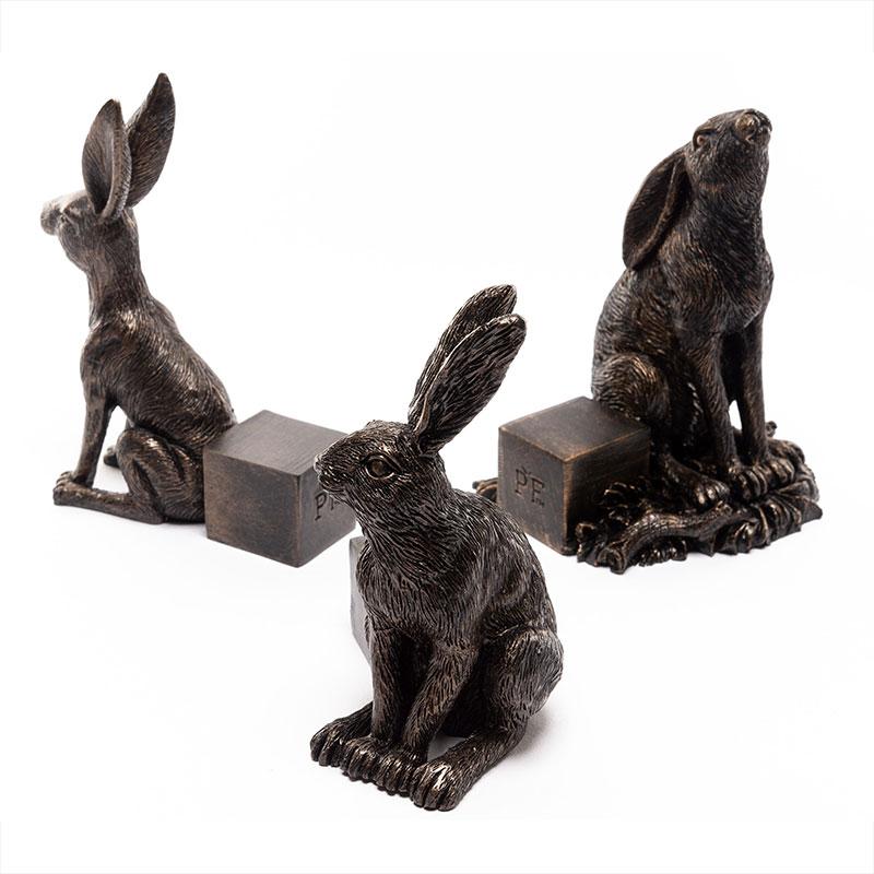 Krukfötter, Harar, antik brons