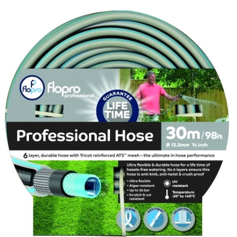 Flopro professional vattenslang 30 meter