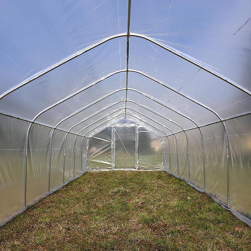 Tunnelväxthus Spira 12,5 kvm, 2 x 6,25 m, 2 dörrar