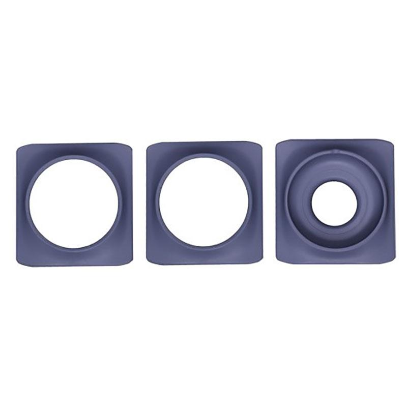 Dekorring till Minigarden Basic S Pots, grå