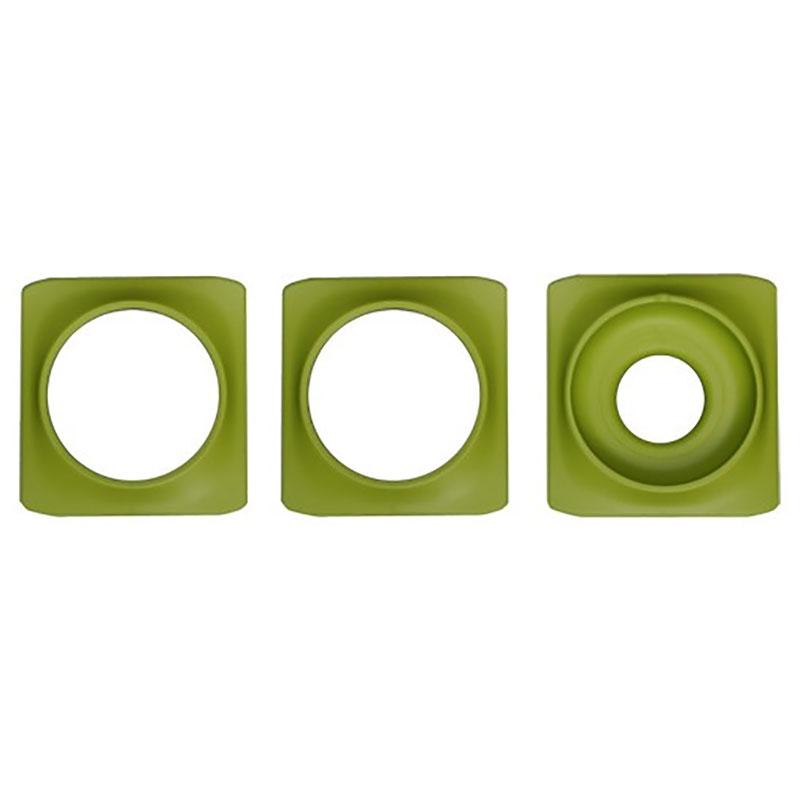 Dekorring till Minigarden Basic S Pots, grön