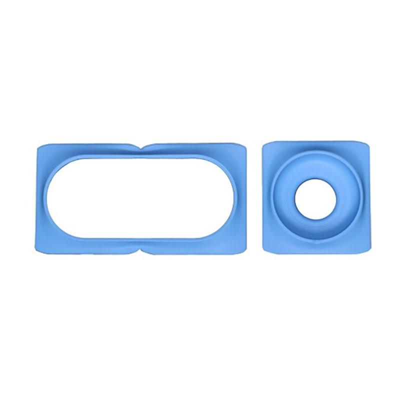 Dekorring till Minigarden Basic S Uno, blå