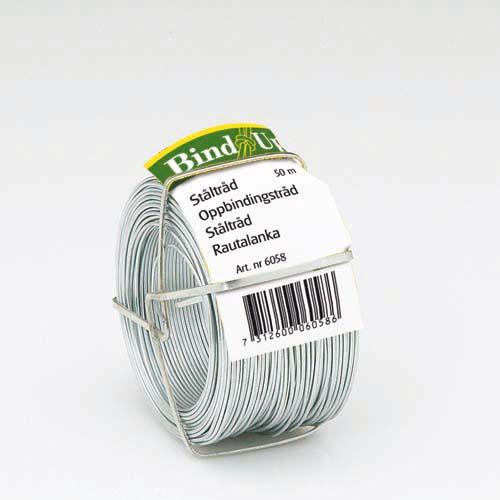 Bindtråd galvaniserad 0,9 mm-Galvaniseraad bindtråd för växter