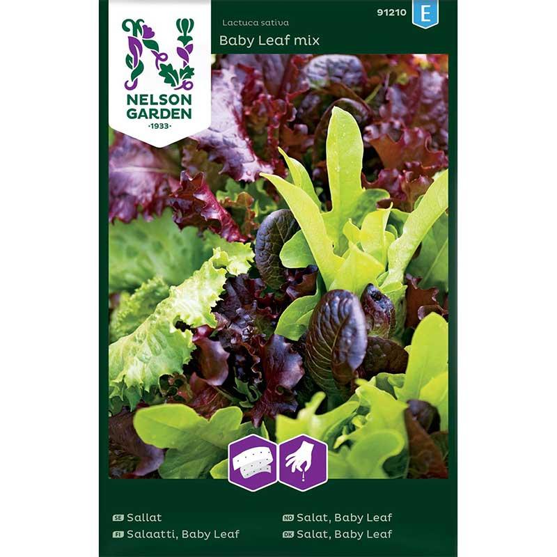 Frö till Baby Leaf sallat, mix
