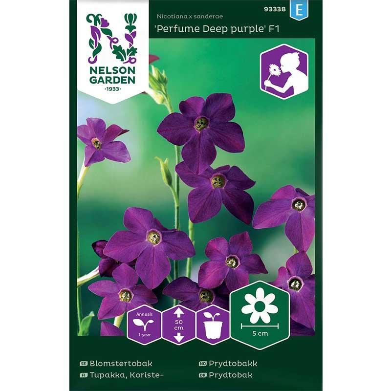 Frö till Blomstertobak 'Perfume Deep Purple' F1