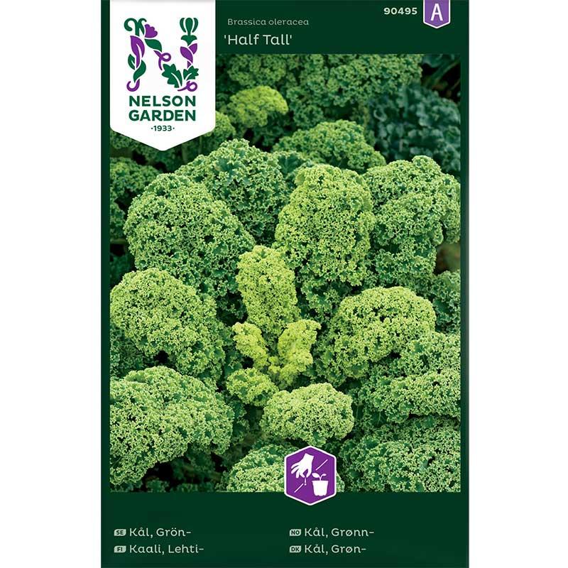 Frö till Grönkål, Brassica oleracea 'Half Tall'