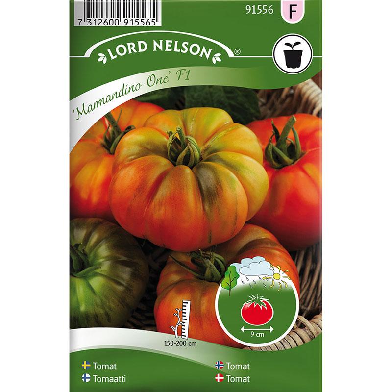 Frö till Bifftomat, Solanum lycopersicum 'Marmandino One' F1