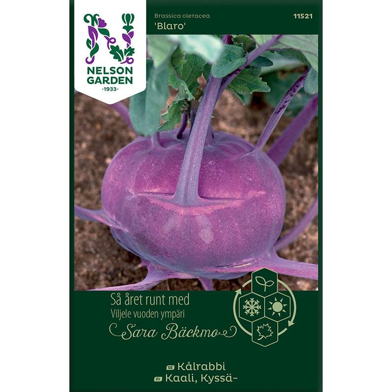 Frö till Kålrabbi, Brassica oleracea 'Blaro'