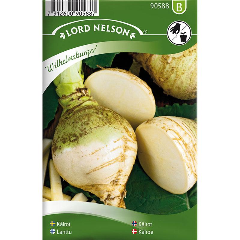 Frö till Kålrot, Brassica napus 'Wilhelmsburger'