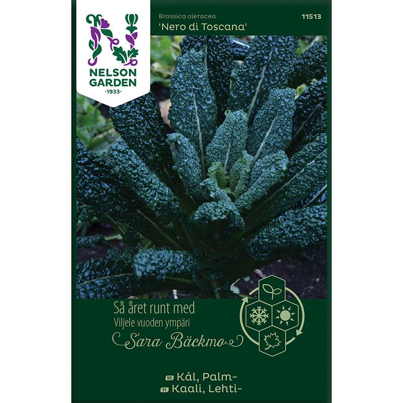 Frö till Palmkål, Brassica oleracea 'Nero di Toscana'