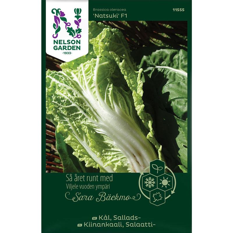 Frö till Salladskål, Brassica oleracea 'Natsuki' F1