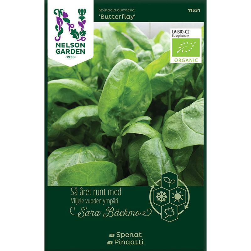 Frö till Spenat, Spinacia oleracea 'Butterflay'