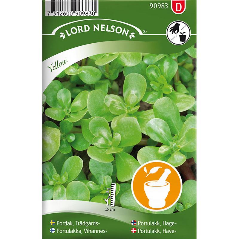 Frö till Trädgårdsportlak, Portulaca oleracea L.