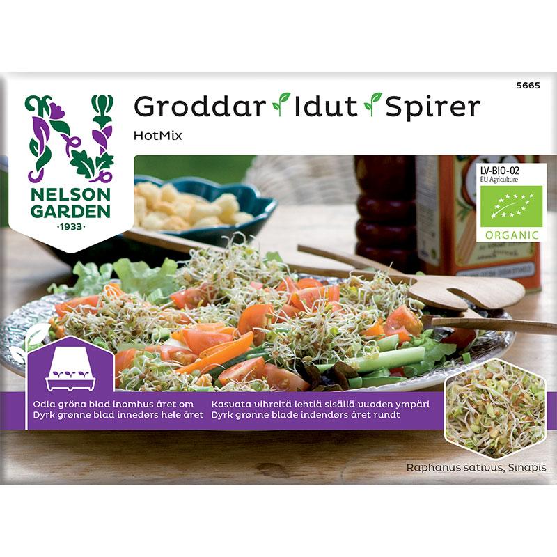 Organiskt frö till groddar - Het mix