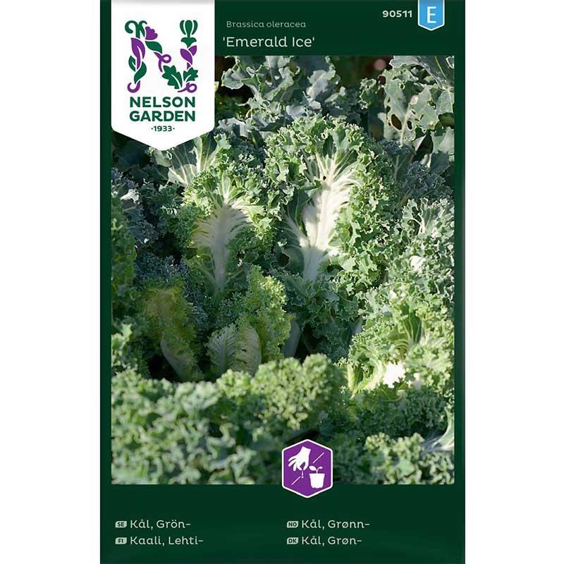 Frö till Grönkål 'Emerald Ice'