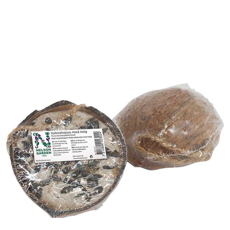 Kokosnöt halv talg frön 1st