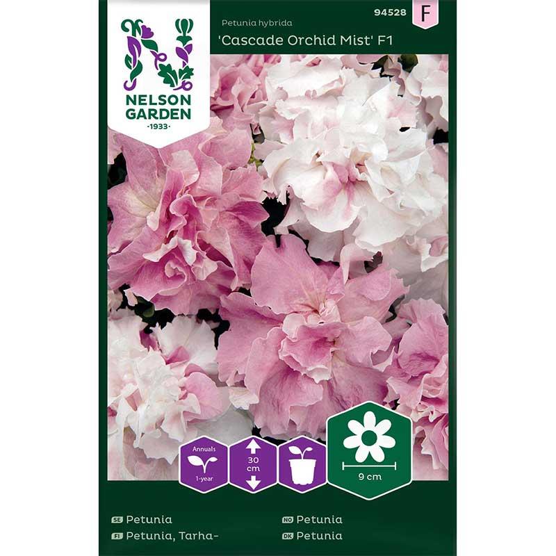 Frö till Petunia 'Cascade Orchid Mist' F1