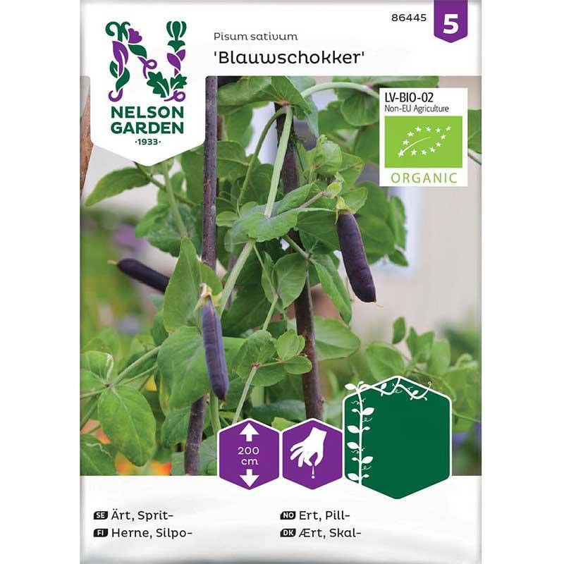 Frö till Spritärt 'Blauwschokker', Organic