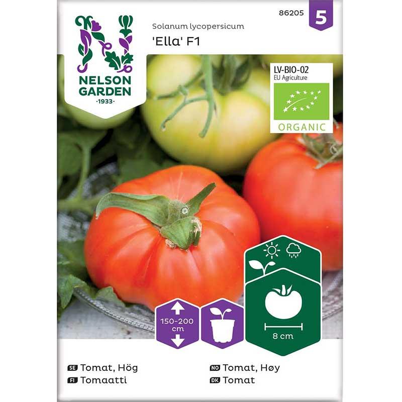Ekologiskt frö till tomat, Ella F1
