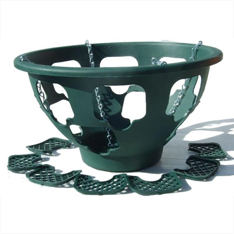 Plantopia Ampel - stor - grön-Plantopia ampel för plantering av Hanging basket