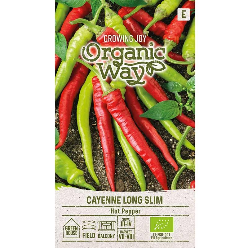 Chilipeppar 'Cayenne Long Slim'