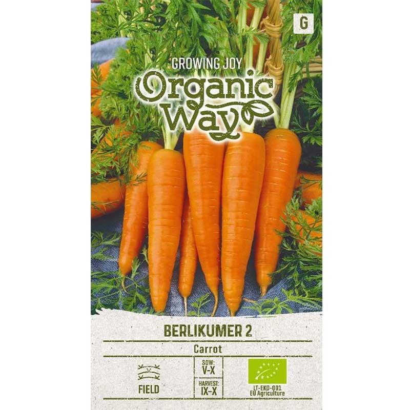 Frö till Morot Organic - Berlikumer 2