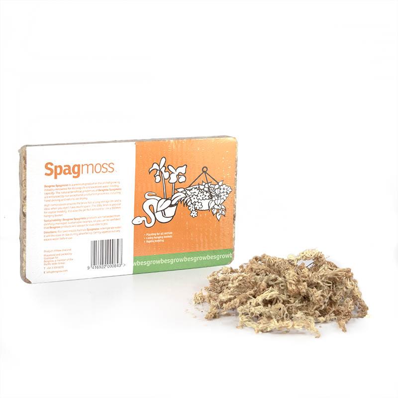 Sphagnummossa 100 gram-Sphagnummossa för okideer och plantering