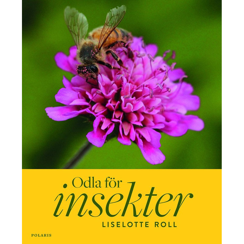 bok om att odla för insekter