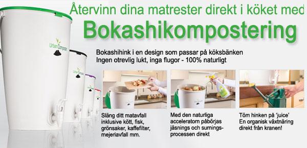 bokashikompostering - kompostera inomhus