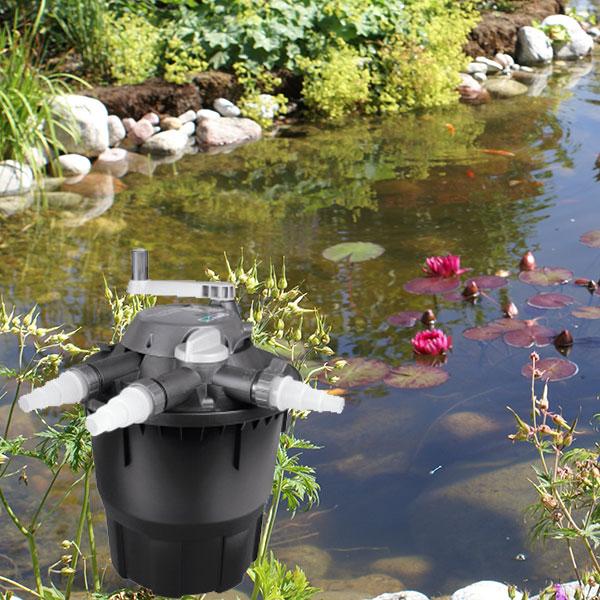 FIlter till dammanläggningar och vattenspel