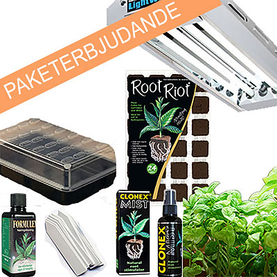 Erbjudanden och paket med odlingsprodukter